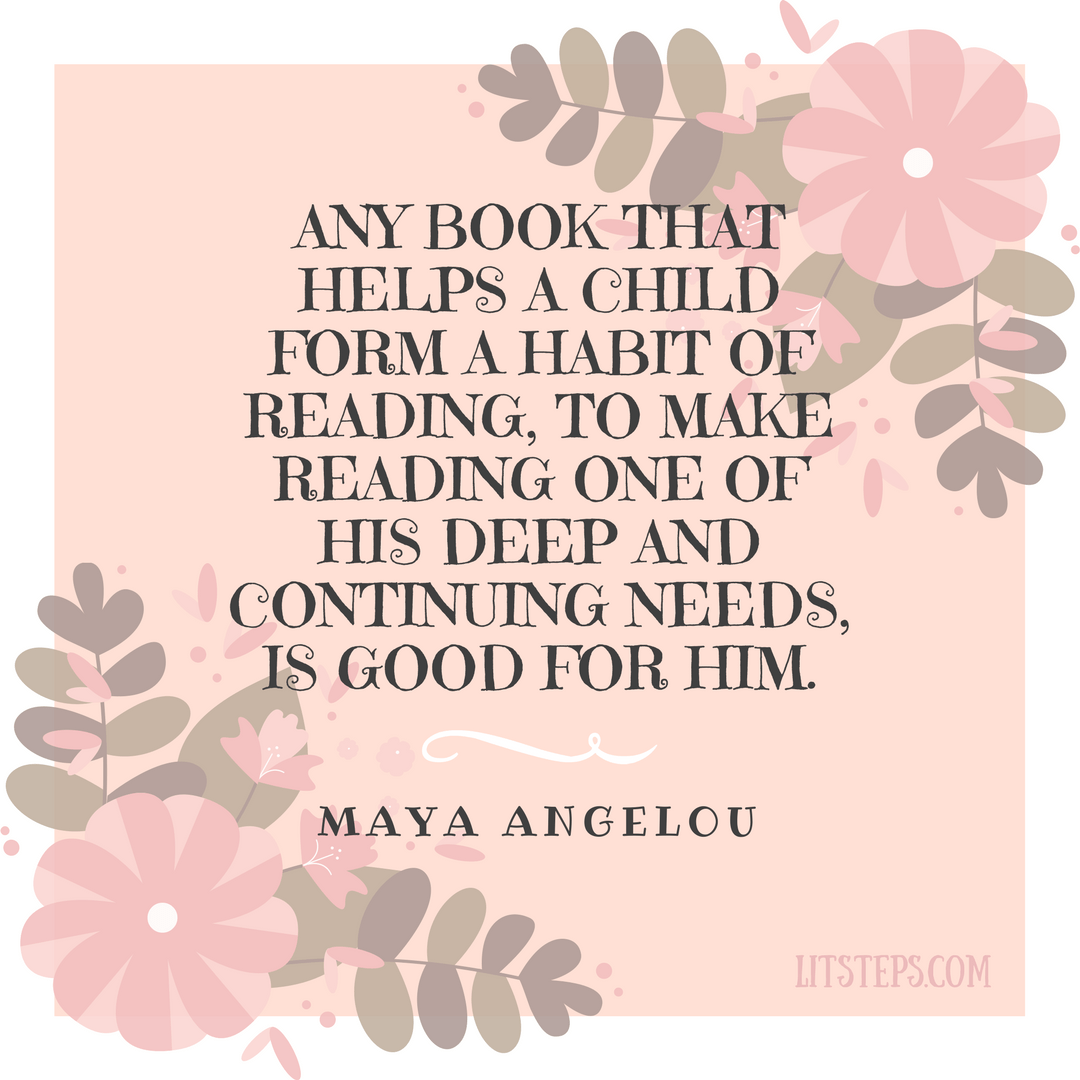 Reading Quotes For Kids Quote  Maya Angelou  Litsteps